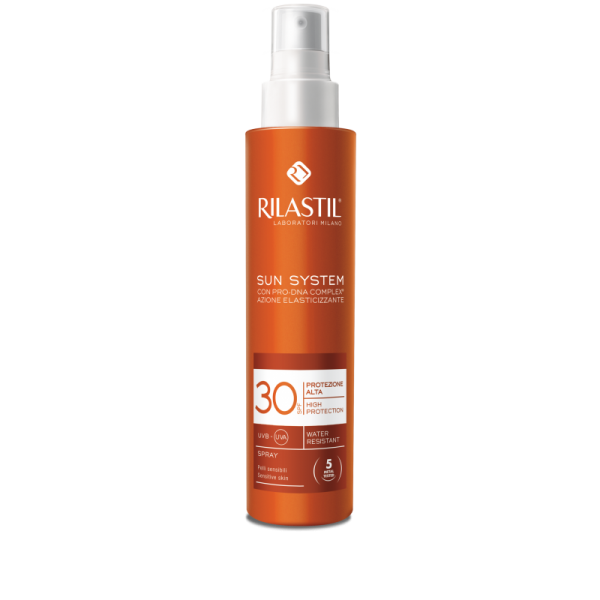 rilastil sun system latte spray 30